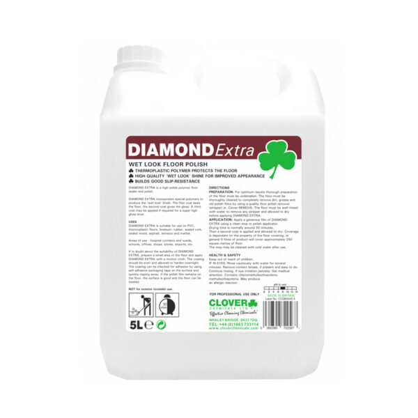 Clover Diamond Extra Floor Polish from Mojjo