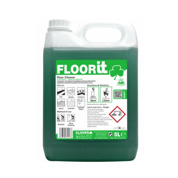 Clover Floorit Neutral Floor Cleaner 5L from Mojjo
