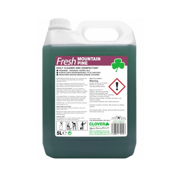 Clover Fresh Mountain Pine Disinfectant 5L from Mojjo