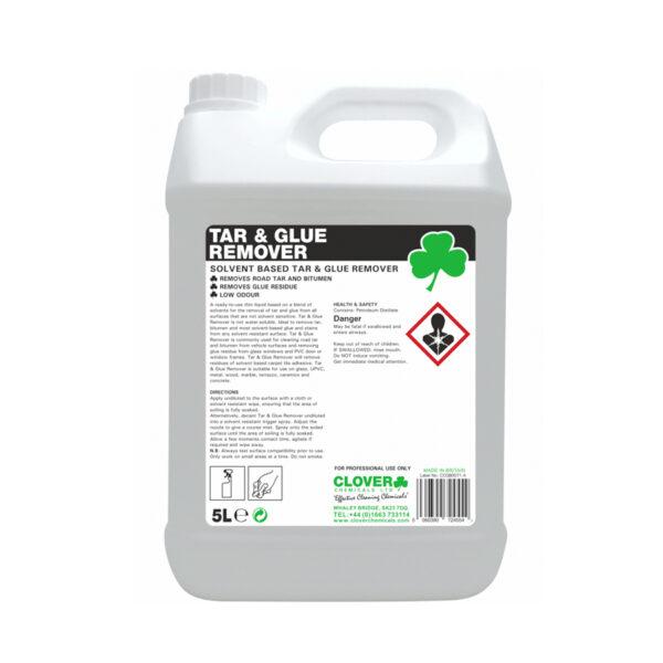 Clover Tar & Glue Remover Solvent Based 5L from Mojjo