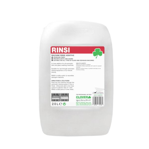 Clover Rinsi Machine Rinse Additive 20L from Mojjo