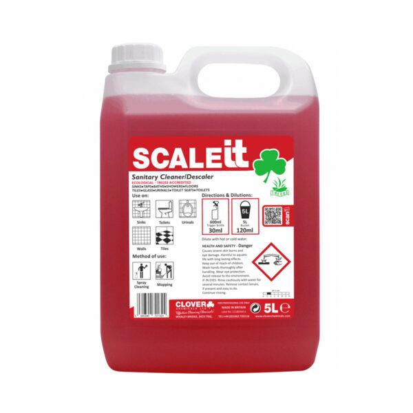 Clover Scaleit Sanitary Cleaner & Descaler 5L from Mojjo