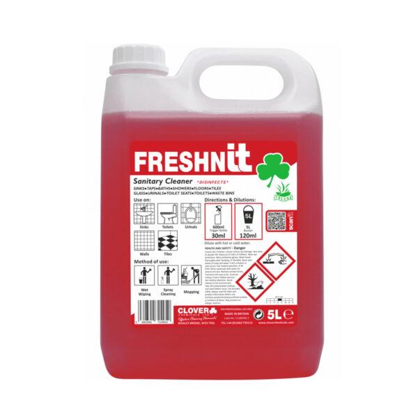 Clover Freshnit Sanitary Cleaner 5L from Mojjo