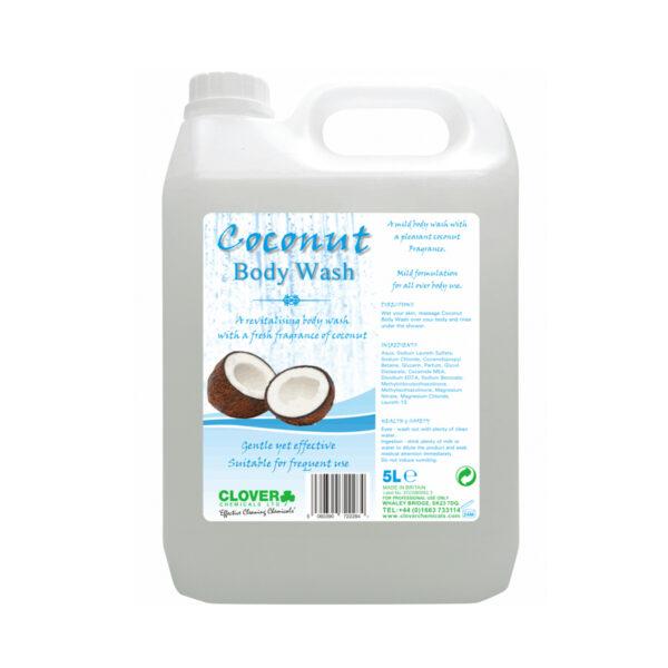 Clover Coconut Body Wash 5L from Mojjo