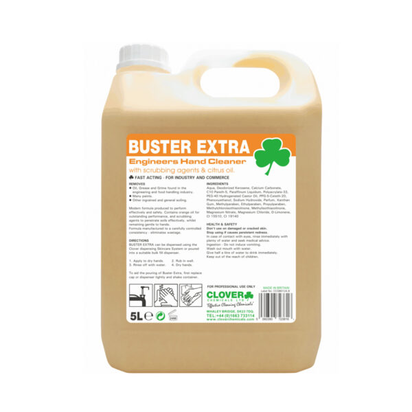 Clover Buster Extra Hand Cleaner 5L from Mojjo