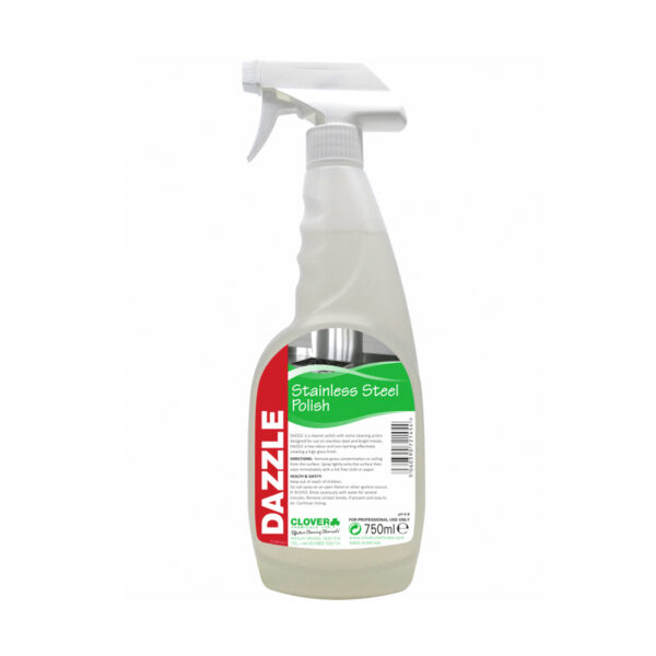 Clover Dazzle Stainless Steel Polish 750ml from Mojjo