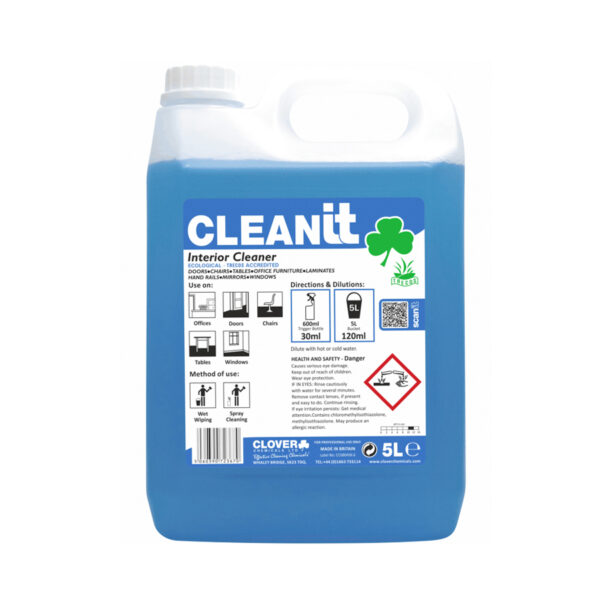 Clover Cleanit Interior Cleaner 5L from Mojjo