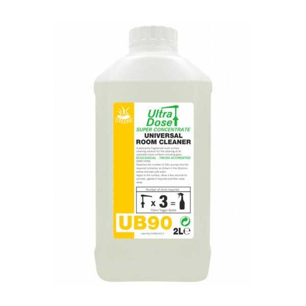 Clover UB90 Concentrated Room Cleaner 2L from Mojjo