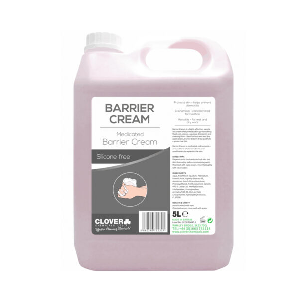 Clover Barrier Cream Medicated 5L from Mojjo