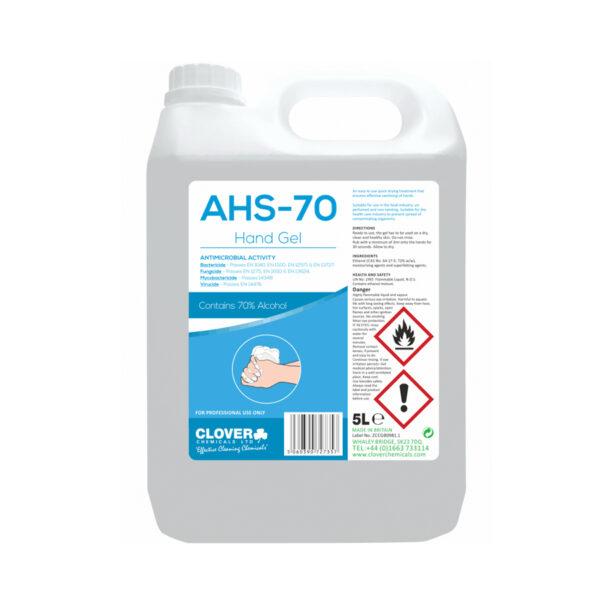 Clover AHS-70 70% Hand Sanitiser 5L from Mojjo